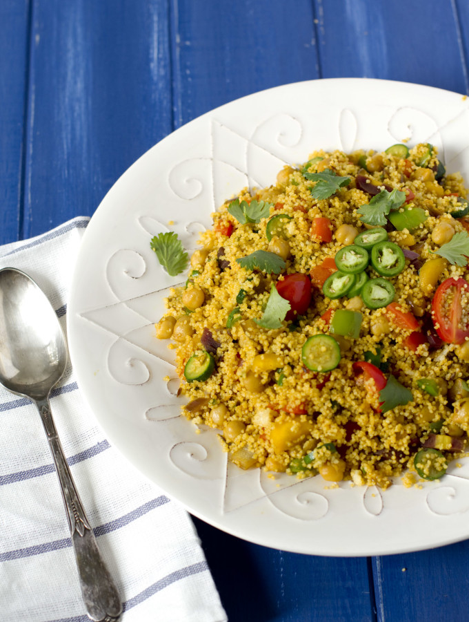 morocco, couscous, chickpeas, veggies, vegetables, vegetarian, 30 mins or less, middle-east, Moroccan cuisine, vegan, gluten-free