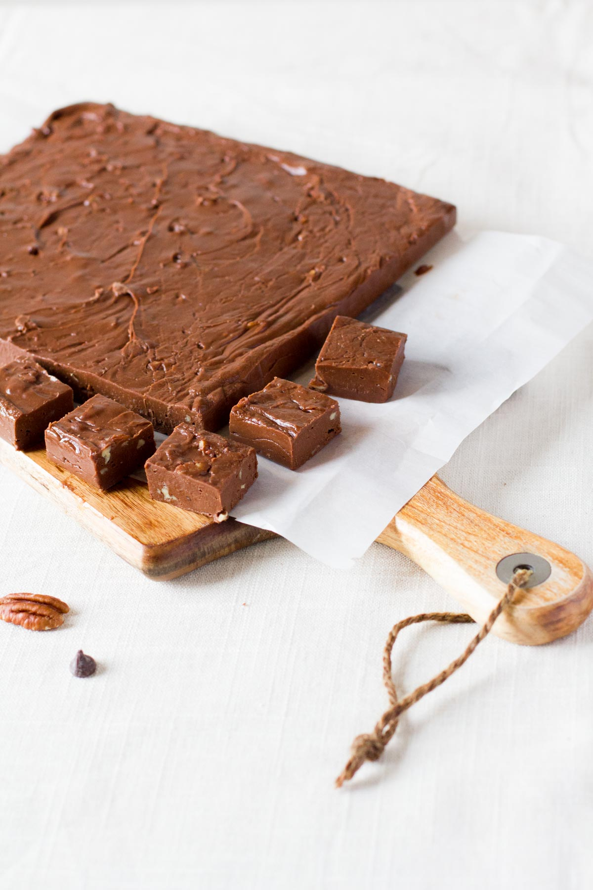 Homemade Chocolate Pecan Fudge